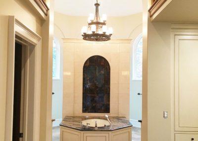 Painted and glazed master bath tub surround - Columbia, SC