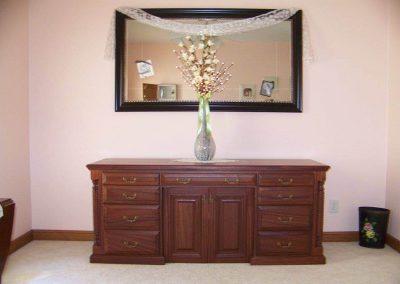 Mahogany sewing cabinet - Wrens, GA