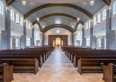 St. Anne Catholic Church, Richmond Hill, GA - View toward the reredos.