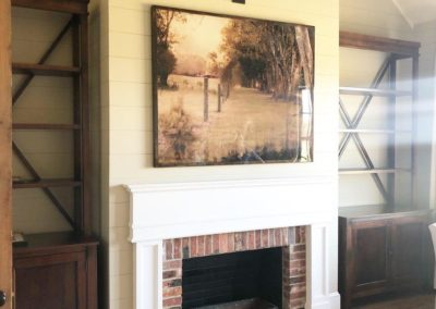 Master Bedroom mantle